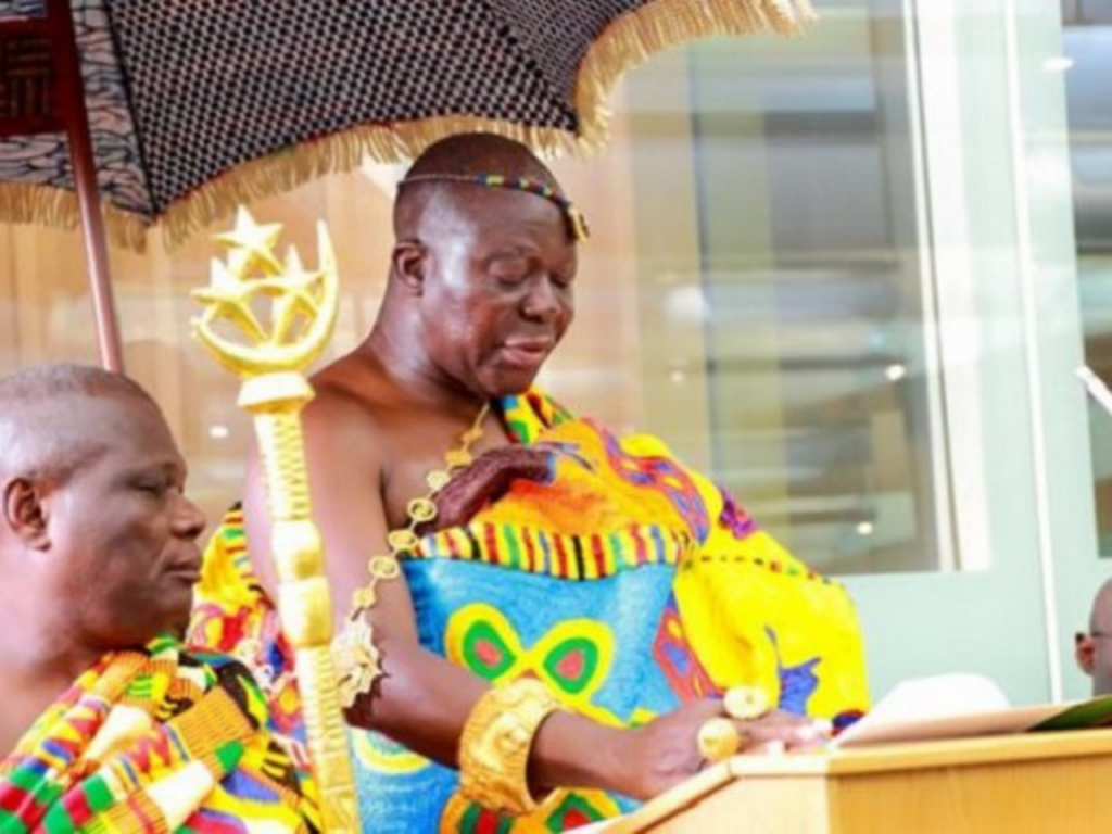 Stop Galamsey Menace – Otumfuo Charges Ministers