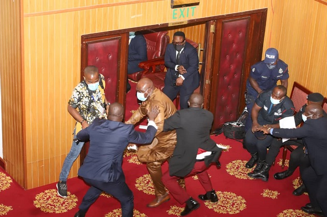 Carlos Ahenkroah Apologises For Snatching Ballot Papers In Speaker Election