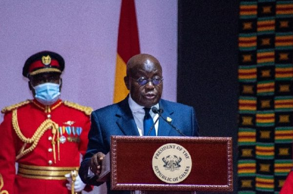 Akufo-Addo To Deliver State Of The Nation Address Tomorrow