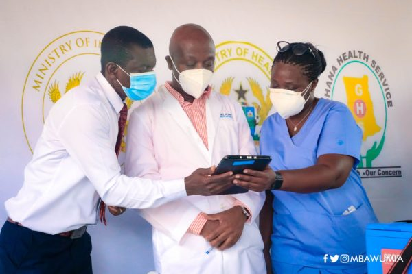 Ghanaians To Use COVID-19 Vaccination App To Book Appointment