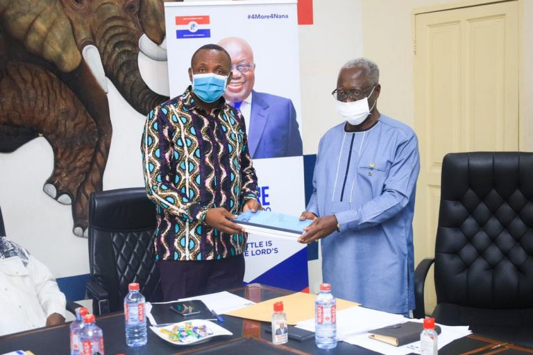 OSAFO MAAFO-LED 2020 ELECTIONS REVIEW COMMITTEE SUBMITS FINAL REPORT TO THE PARTY