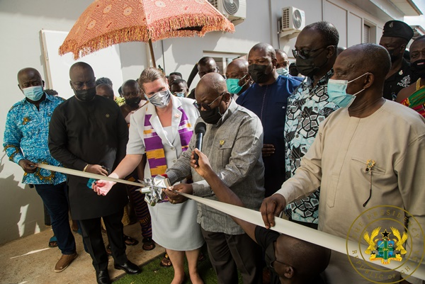 1D1F: President Akufo-Addo Commissions Premium Foods Factory
