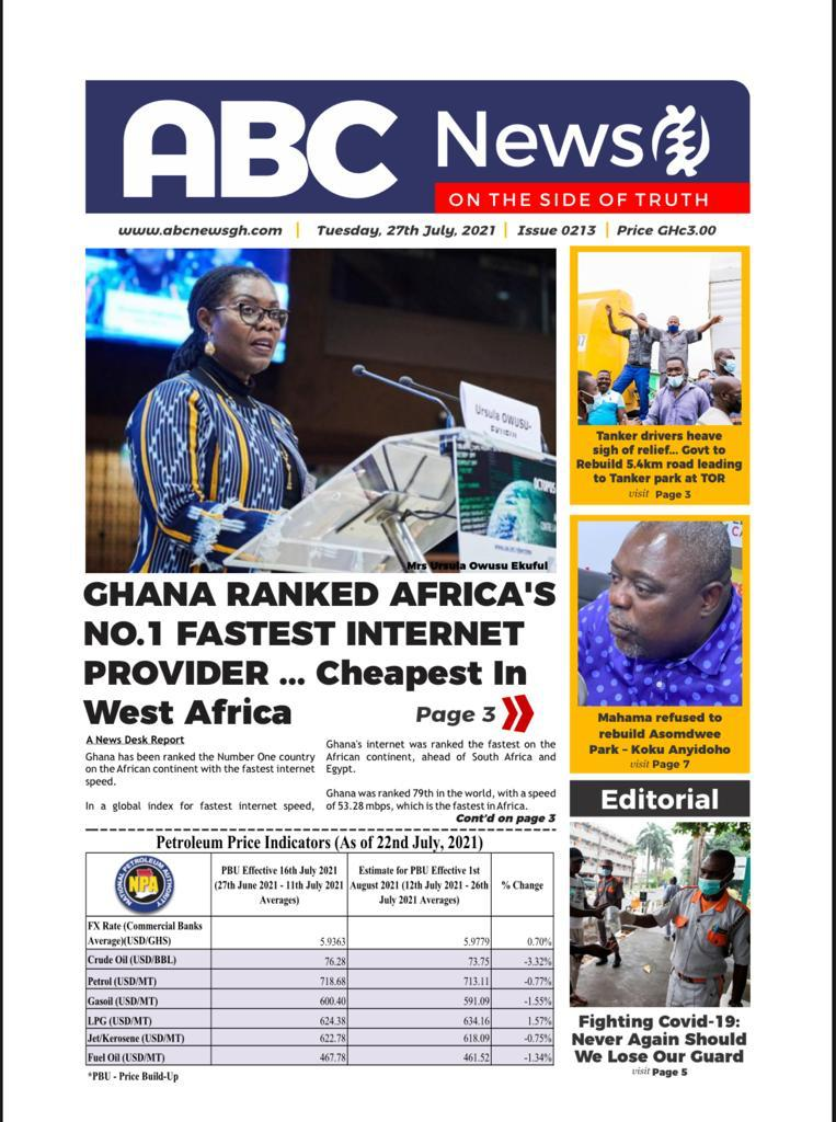 GHANA RANKED AFRICA'S NO.1 FASTEST INTERNET PROVIDER … Cheapest In West Africa