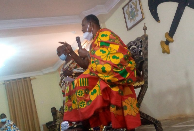 Support government to fix the country-Yamfo Paramount Chief