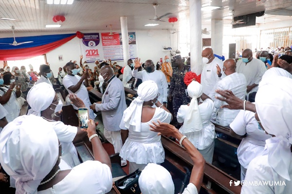 Let's Build the Cathedral Together – VP Bawumia