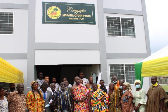 Ken, Angela Ofori-Atta build flats for doctors
