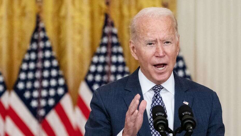 """Biden says evacuations from Afghanistan """"hard and painful"""" as he considers extending August 31 withdrawal deadline"""
