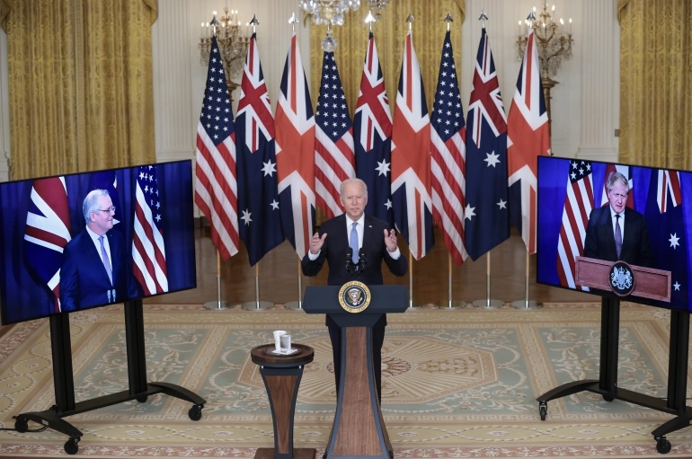 US, UK and Australia agree new Indo-Pacific security pact