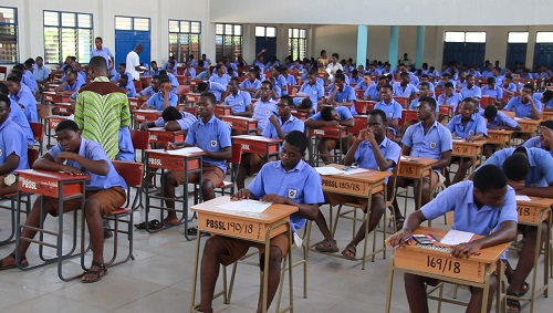 446,321 Candidates participating in WASSCE