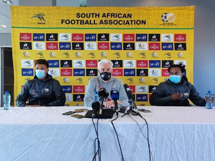 World Cup Qualify: Bafana Bafana Hugo Broos Names 34-Provisional Man Squad To Face Ethiopia  In October