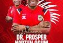 Asante Kotoko hire Dr. Prosper Narteh Ogum as new head coach
