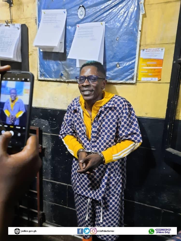 Police Have Arrested Charles Nii Armah Mensah Popularly Known as Shatta Wale