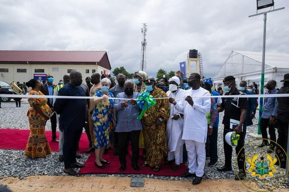 President Akufo-Addo Commissions Ghana's Largest Bulk Electricity Supply Point In Pokuase
