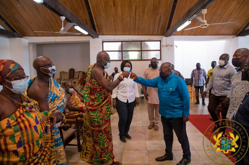"""Mahama Constructed Roof Before Building The Foundation"" – President Akufo-Addo On Komenda Sugar Factory"