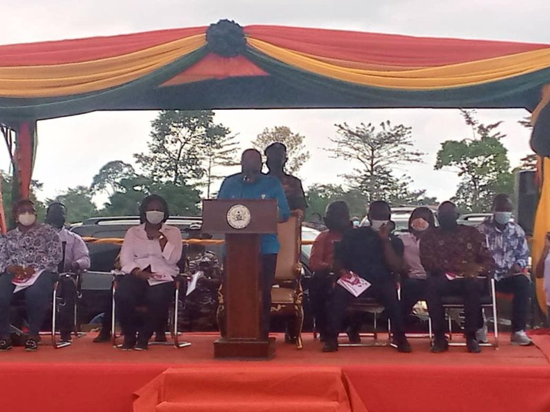 46.2km Strategic Roads And Drainage In Assin To Be Completed In 2023