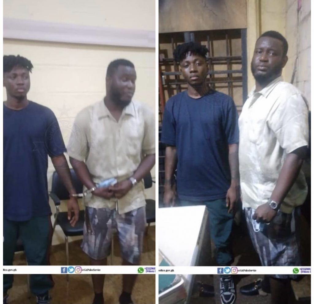 Two in Police Custody for Spreading False Information in Connection with Alleged Gunshot Attack on Shatta Wale